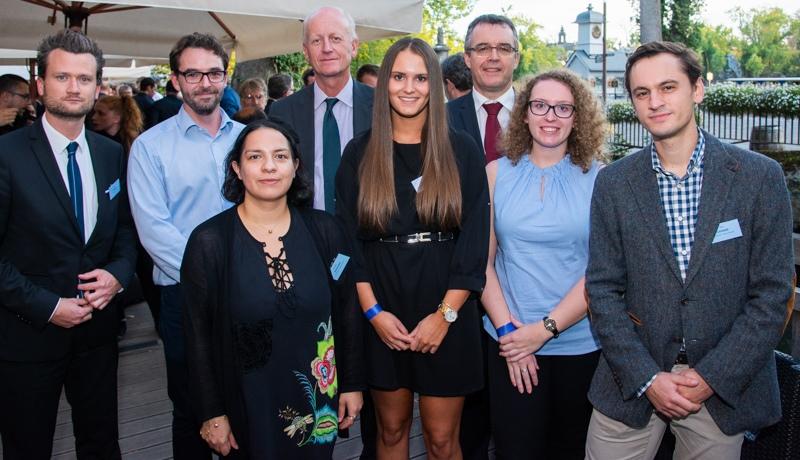 Les lauréats du XVIIIe Student's Glass Award