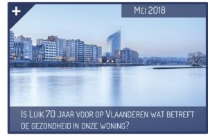 Is Luik 70 jaar voor op Vlaanderen wat betreft de gezondheid in onze woning?
